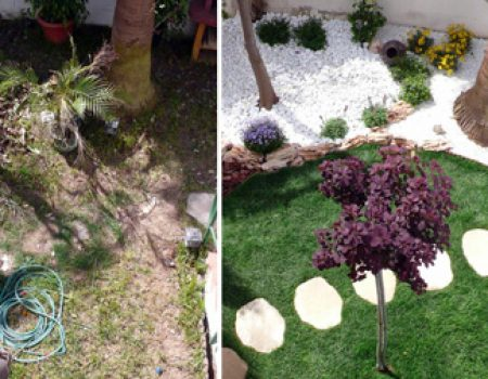 Restauración de jardines